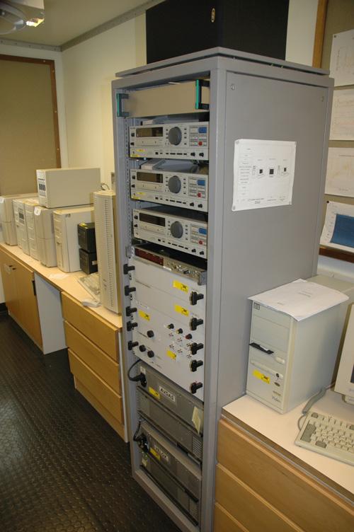 VLF recording racks