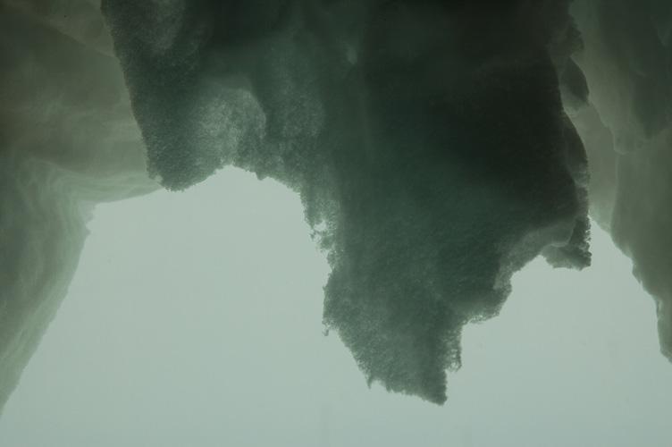 Translucent snow