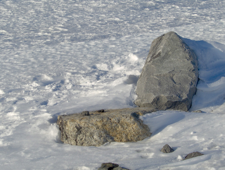 Rocks dragged up from the edge of Antarctica