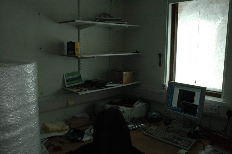 My office empties