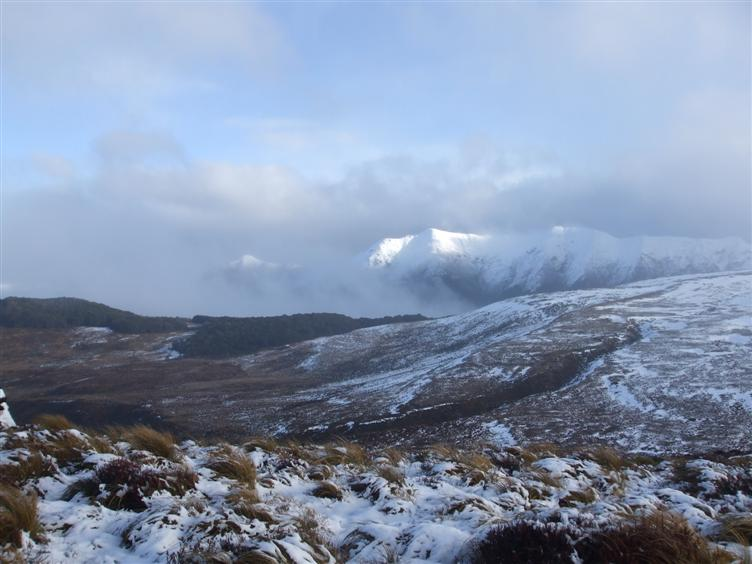 Passing the snowline