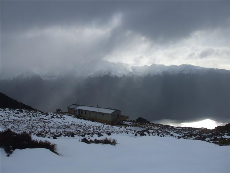 The Luxmore Hut